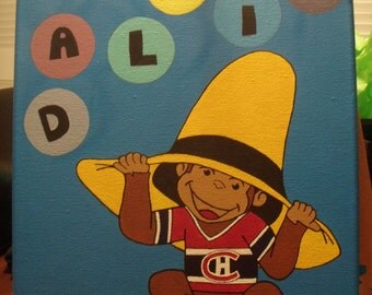 Curious George Painting