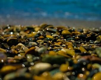Pacific Ocean Beach Stones