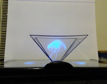 HOLOGRAM PYRAMID for iphone and android phones and tablets
