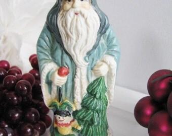 Christmas Eve, Inc. Santa Claus Figurine Ornament Limited Edition 1910 Yogoslavia, Replica, Rare Collectible