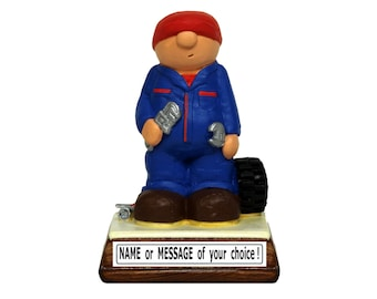 Personalised Mechanic gift - brilliant Birthday / Fathers Day / Grandad / Christmas / for Him / Mens / Retirement / Car / Engine present
