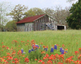 Old Wooden Barn, Fine art photograph, photography print, barn photo, landscape photography, whimsy photography