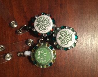 Irish retractable id badge holders