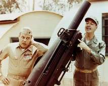 Gomer Pyle U.S.M.C. and Sargent Carter Cannon Jim Nabors  8x10 Photograph