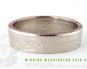 COIN RING - Great Basin National Park - Handmade in the USA - All Sizes Available