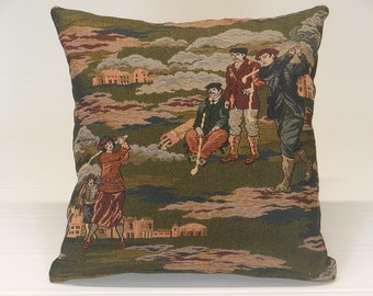Pictorial Tapestry Accent Pillows