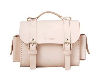 Leather Camera bag/Leather Briefcase bag/shoulder bag, handmade leather bag/Women or Men/retro/vintage/Cowhide leather bag/To order