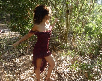 Dress Sword Sherazade, Lace Cotton