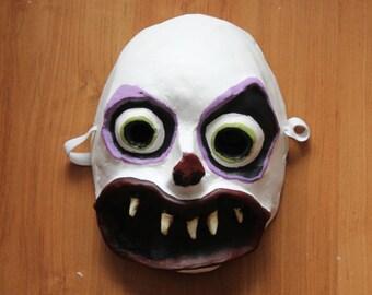 Clown Mask | Paper Mache Mask | Costume
