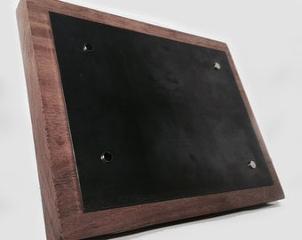 Industrial Magnetic Picture Frame (4x6) - Simple, Beautiful Design