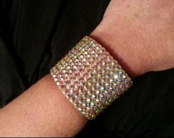 """Swarovski Crystal Rhinestone Bracelet (2"""")"""
