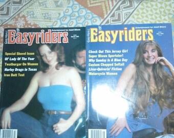 Vintage 1985 Easyriders Magazines (2)