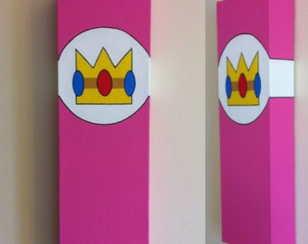 Princess Peach Canvas Painting
