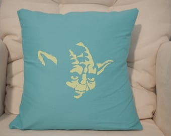 Stenciled Throw Pillows