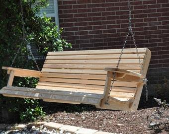 5' Cypress Porch Swing (Free Shipping)