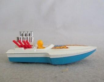 Matchbox SuperFast No. 5 Seafire Race Boat