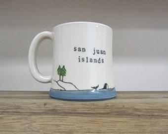 MADE TO ORDER ~ San Juan Islands Mug