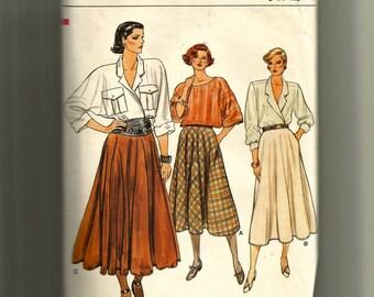 Vogue Misses'  Skirt Pattern 9169