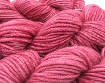 Cashmere Yarn, Aran weight, Strawberries-n-Cream