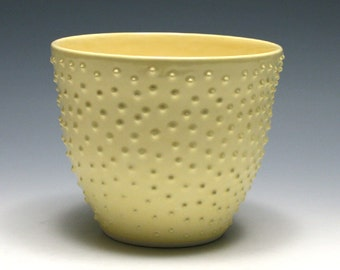 Light Yellow Dotted Bowl