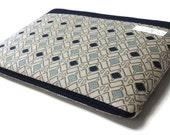 "Women's MacBook Case 11""-15"" Chromebook Sleeve, HP Spectre x360 3t Case Laptop Sleeve - Blue Diamonds"
