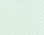 Hello Darling - Summer Stripe in Aqua: sku 55112-13 cotton quilting fabric by Bonnie and Camille for Moda Fabrics - 1 yard