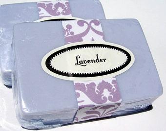 Lavender Soap Bar, Homemade Purple Lavender Soap, Gift for Her