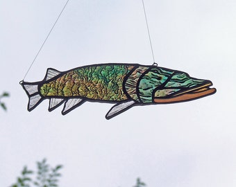 Father's Day Gift - North American Pike (Musky or Northern) Outdoor Person Gift