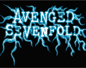 Avenged Sevenfold Afghan graph chart only pdf ready for download