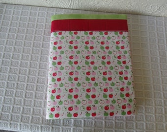 Apples  Composition Notebook Journal Cover Green Red Pink