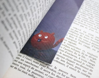 Take me to see the stars - illustrated bookmark