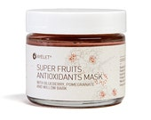 Antioxidants SuperFruit Mask with Blueberry, Pomegranate, and Willow Bark For Glowing Rejuvenated Skin