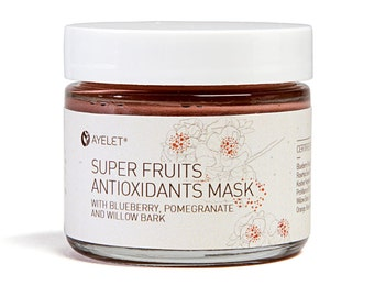 Antioxidants Facial Mask| Super fruits Facial Mask|Enzyme Facial Mask|Vitamin C Facial Mask|Exfoliating Facial Mask| Rejuvenating Mask