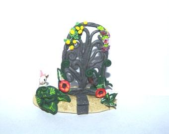 Miniature whimsy fairy sculpture dollhouse miniature terrarium mini  graden accessory