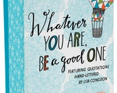 Notecard Set of 20 Hand-Lettered Quotes by Artist Lisa Congdon