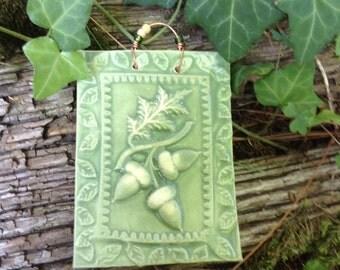 Sage Green Acorn Tile