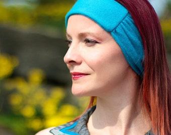 Cashmere Headband Reversible Winter Accessory