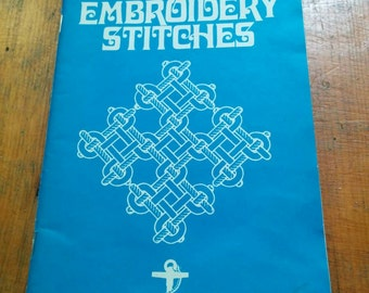 Vintage 100 Embroidery Stitches Book 1976