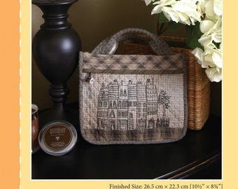 SALE - Parisian Handbag - By Yoko Saito - 8.00 Dollars