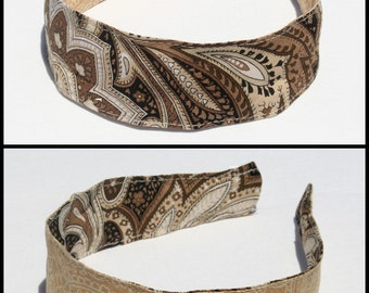 Comfortable Headband, reversible & washable