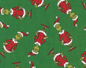 Dr. Seuss How The Grinch Stole Christmas 5, Grinch Toss on Green, yard