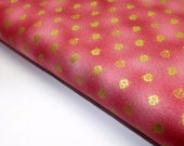Fat Quarter Northcott Garden Etchings Pink 2883 OOP Metallic Gold Quilting Quilt Fabrics Sewing Textiles Cotton Out Of Print