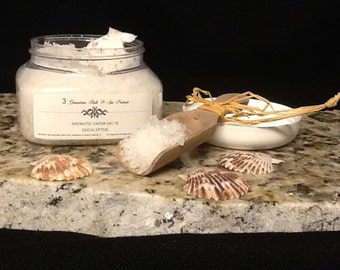Aromatic Vapor Salt in Eucalyptus