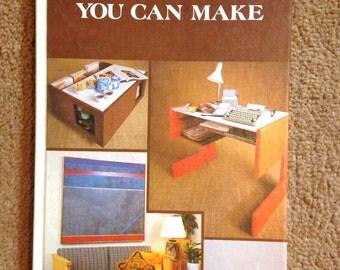 Mod Decor Book VIntage DIY Furniture you can Make Book Make Furniture Yourself