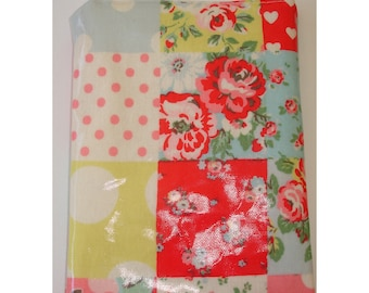 Cath Kidston Patchwork PVC Mini iPad Mini Case Cover Pouch Sleeve Oilcloth Fabric Handmade Quilt