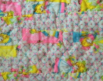 70s Baby Crib Blanket