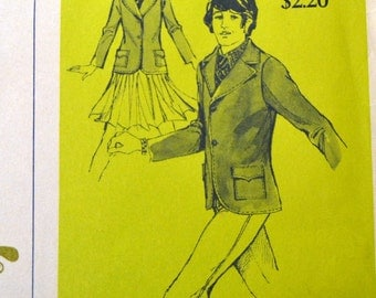 Sewing Pattern Stretch & Sew 970 Children's Jacket Size 8-10-12-14 UNCUT COMPLETE