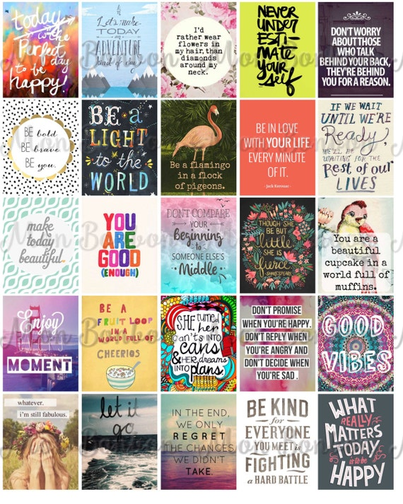 MAMBI Motivational Planner stickers Printable Stickers