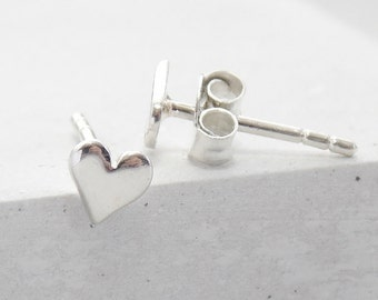 Stud Earrings | Heart Studs, Heart Stud Earrings, Stud Earrings, Tiny Studs, Post Earrings, Small Stud Earrings, Post Earring, Earring Studs