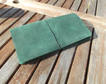 Traveller's Notebook - Fauxdori - Midori Compatible - Large Choice of Colour - Wide Fit